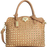 Steve Madden Handbag, Bdarby Studded Satchel - All Handbags - Handbags & Accessories - Macy's