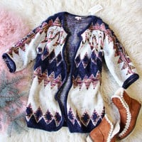 Spool Lux Snowy Desert Sweater