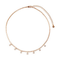 Petits Bijoux Two-Row Choker Necklace by Chloe + Isabel
