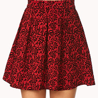 Luxe Floral Skirt