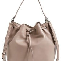 Tory Burch Leather Bucket Bag