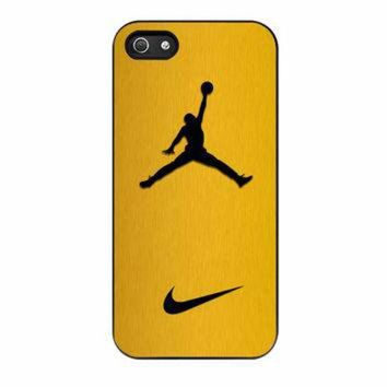DCKL9 Nike Air Jordan Golden Gold iPhone 5s Case