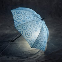 Liquid Series Lighted Umbrella (Blue)
