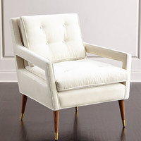Haute House Morris Tufted-Back Chair