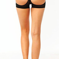 Butt Lift Cut-Out Boy Shorts (more colors)