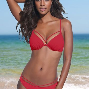 Black Beauty Enhancing Valentina Push Up Bikini | VENUS