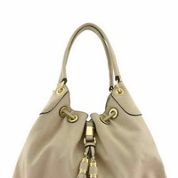 //Lilly Hobo Bag// - Beige