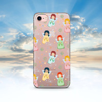iPhone 7 Case Clear Angels iPhone 7 Plus Case iPhone 6 Case Clear iPhone 6S Case Clear iPhone SE Case Clear iPhone 6S Transparent Case