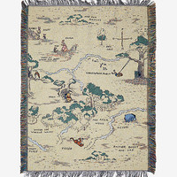 Disney Winnie The Pooh Hundred Acre Wood Tapestry Throw Blanket - BoxLunch Exclusive