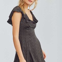 Kimchi Blue Daisy May Ruffled Mini Dress | Urban Outfitters