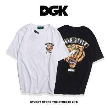 DGK Couple Short Sleeve Hip-hop T-shirts [10452574663]