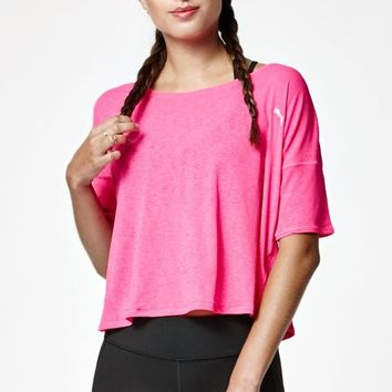 Puma Drapey Crew Neck T-Shirt at PacSun.com