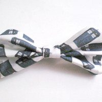 Doctor Who Bowtie- Clip On