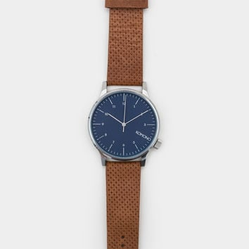 Komono Winston Watch - Blue Cognac