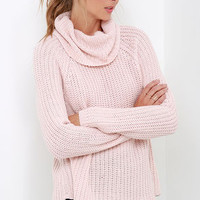 Photo Ready Blush Pink Sweater