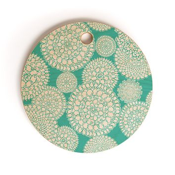 Heather Dutton Delightful Doilies Tiffany Cutting Board Round