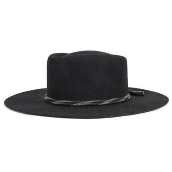 Petty Fedora - Black