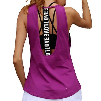 Women's Graphic Workout Tank Top