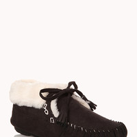 Cozy Moccasin Slippers