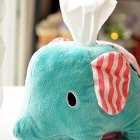 cute san x sentimental circus elephant tissue box