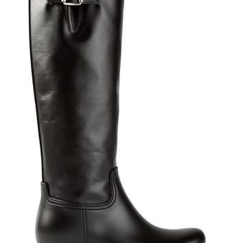 MM6 By Maison Martin Margiela buckled biker boots