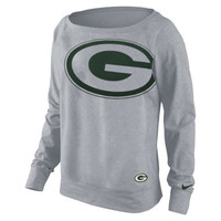 Green Bay Packers Nike Women's Dri-FIT Epic Wildcard Long Sleeve T-Shirt