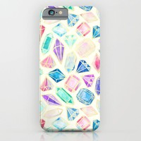 Watercolor Gems Intense iPhone & iPod Case by Tangerine-Tane