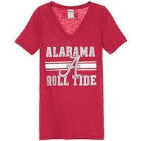 University of Alabama Fitted V-neck Tee - PINK - Victoria's Secret