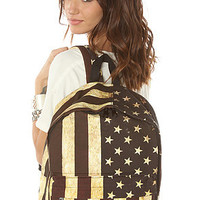 accessories boutique backpack distressed usa canvas karmaloop