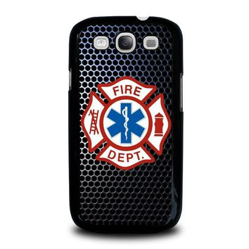 emt ems fire department samsung galaxy s3 case cover  number 2