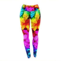 "Claire Day ""Sweet Sour"" Yoga Leggings"