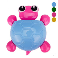 New Cute Sucker Turtle Toothbrush Holder Cartoon Tortoise Bathroom accessory wall mount toothpaste holding sucking style on sale