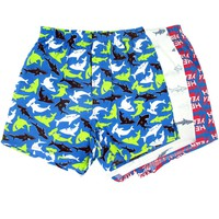 SAY YES TO SHARKS   Boxer Shorts 3-Pack