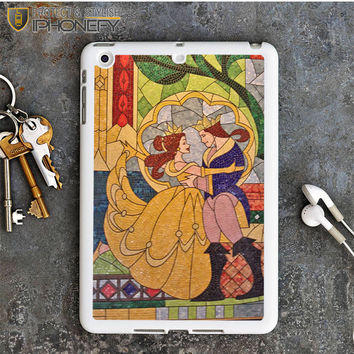 Prince Beast And Belle Stained Glass iPad Mini Case iPhonefy