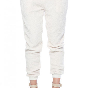 Ladies French Terry Sweater Jogger