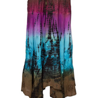 NEW! Dance Gypsy Dance Tie-Dye Skirt