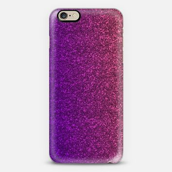 Girly Pink & Purple Glitter iPhone 6 case by Emilee Parry   Casetify