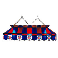 Chicago Cubs MLB 40 Inch Billiards Stained Glass Lamp