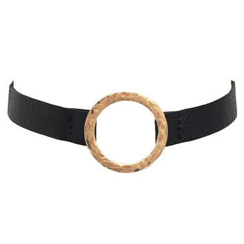 Young & Free Choker In Black
