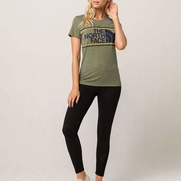 THE NORTH FACE Tri-Color Logo Womens Tee