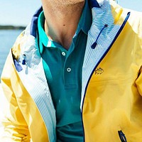Santee Rain Slick in Yellow by Southern Tide