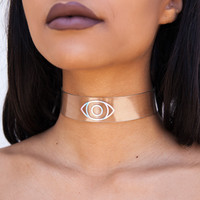 Clear Eyes Choker