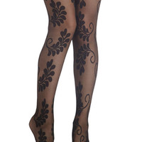 ModCloth Boho Conversation Centerpiece Tights