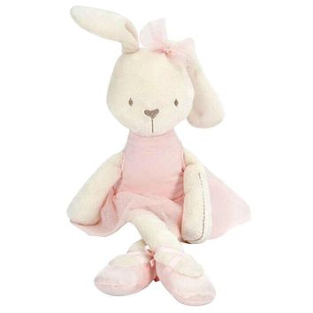 Hot Sale Plush Toys 42cm Large Soft Rabbit Stuffed Animal Bunny Toy Cute Baby Girl Kid Pets For Baby