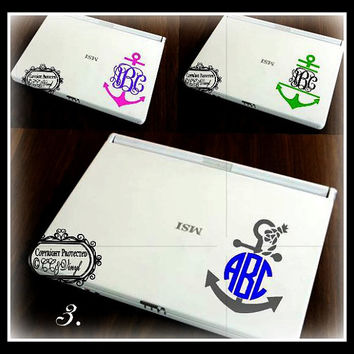 Anchor Personalized IPad Monogram