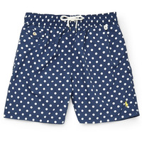 Polo Ralph Lauren - Mid-Length Polka-Dot Swim Shorts | MR PORTER