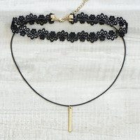 Solance Layered Choker Set - Gold