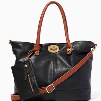 Triple Play Tote Bag-in-Bag | Handbags | charming charlie