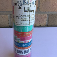 Bible Journaling Washi Tape by American Crafts - 11 spools of washi tape for bible journaling