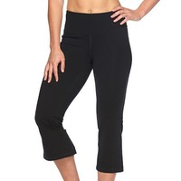 Women's Tek Gear Shapewear Flared Capri Workout Leggings